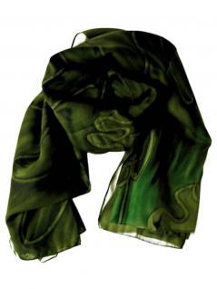 Polyester Tuch grün
