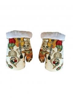 Baby Handschuhe Piraten