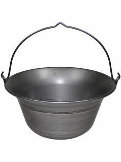 Ungarischer Gulaschkessel Eisen 10 Liter
