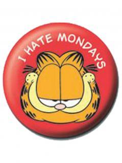 2 Button Garfield rot