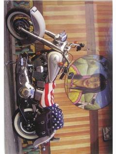 6 Harley Davidson Postkarten