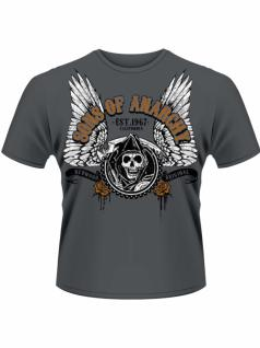 Sons of Anarchy T-Shirt Winged Reaper