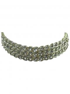 Leder Halsband Ketten