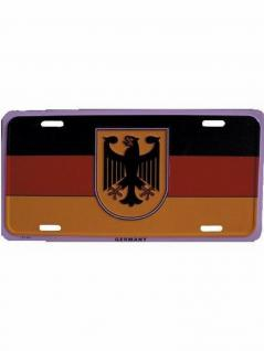 Autoschild Deutschland mit Adler