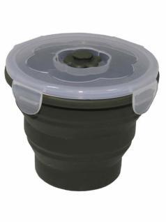 Lunchbox 0, 66 Liter faltbar rund