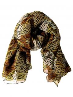 Polyester Tuch Tiger Muster