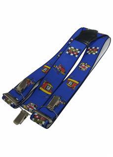 Hosenträger Supertruck blau