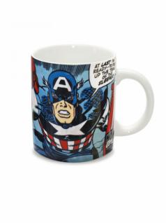 Tasse Marvel Captain America cap goes Wild