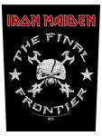 Iron Maiden Rückenaufnäher The Final Frontier Vintage Skull