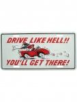 Kennzeichen Drive Like Hell