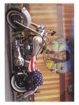 3 Harley Davidson Postkarten