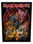 Iron Maiden Rückenaufnäher England