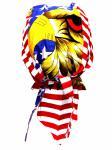 Bandana Cap U.S.A. Eagle