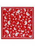 Bandana Yin und Yang rot