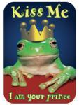 3 Aufkleber Kiss me