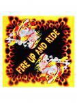 Bandana Fire Up And Ride