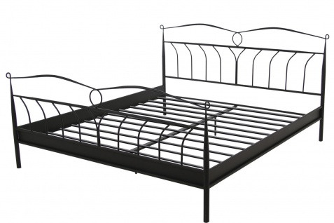 bett 140x200 metallbett online bestellen bei yatego. Black Bedroom Furniture Sets. Home Design Ideas