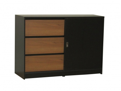 walnuss sideboard g nstig online kaufen bei yatego. Black Bedroom Furniture Sets. Home Design Ideas