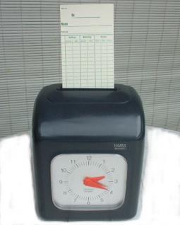 Farbband für AMANO Stempeluhr EX 3000