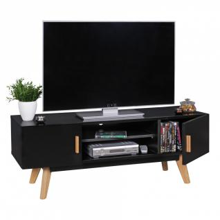 tv lowboard schwarz online bestellen bei yatego. Black Bedroom Furniture Sets. Home Design Ideas