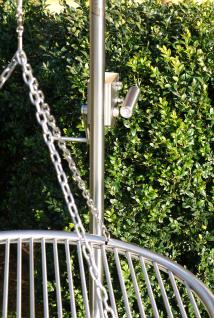 LIBATHERM Grillgalgen, 0 Euro Versandkosten, Grillgalgen-Komplett-Set, Auslegerweite 70 cm, Edelstahl-Grillrost 70 cm Durchm. mit entnehmbaren 8 mm Stäben + Bodenrohr - Vorschau 4