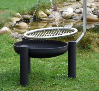 libatherm schwenkgrill 0 euro versandkosten feuerschale 50 cm durchm edelstahl grillrost 50. Black Bedroom Furniture Sets. Home Design Ideas