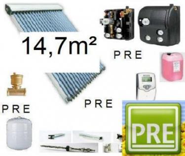 Neues Solar-Paket (Röhrenkollektor) 14, 7m²