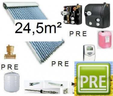Neues Solar-Paket (Röhrenkollektoren) 24, 5m²