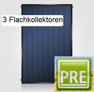 NEU Flachkollektor 6,3m² Solaranlage Puffer