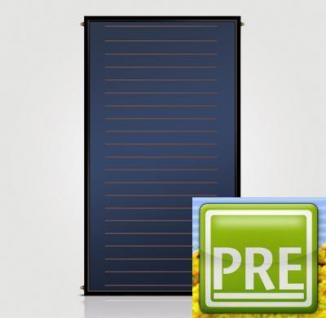 NEU Flachkollektor 2,1m² Drain Mäander System für Solaranlage Puffer
