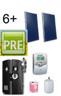 Neues Solar-Paket (Flachkollektoren) 20, 1m²