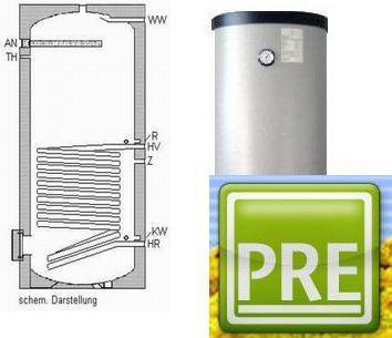 Neuer Solarspeicher 300 Liter 1 WT Isolierung