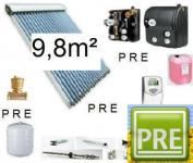 Neu Solaranlage 9, 8m² mit Solarspeicher 500 Liter