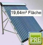 NEU Solaranlage 19, 64m² Röhrenkollektor Flachdach