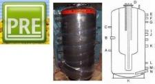 Neu Kombispeicher 600 L für Heizung Solar Kamin