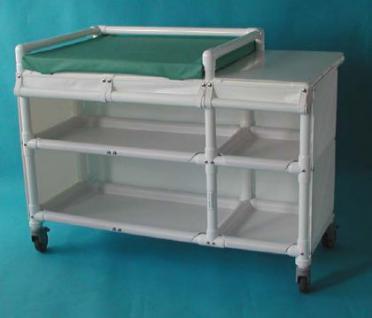 klinik wk 10 rollbare wickelkommode wickeltisch polsterauflage rcn kaufen bei. Black Bedroom Furniture Sets. Home Design Ideas