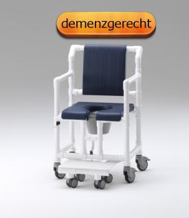 XL 200 kg inkl. Toilettenstuhl Toilettensitzerhöhung Profi-Duschstuhl