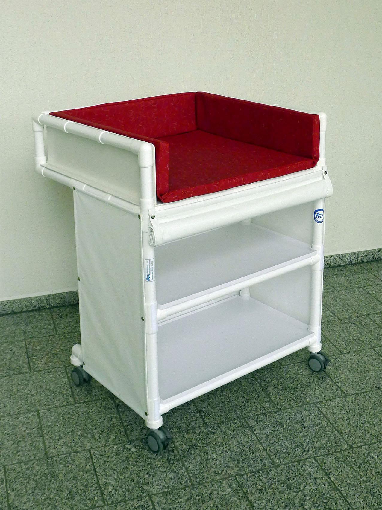 klinik wk5 rollbare wickelkommode wickeltisch rcn kaufen bei demenzeinrichtungsberatung. Black Bedroom Furniture Sets. Home Design Ideas