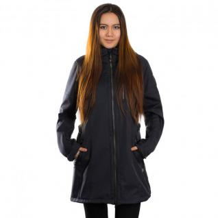 Gr. 50 Navy - Killtec Jacke Parka Gr. 50 Casual Mantel Damen Soft Shell Matava - Navy