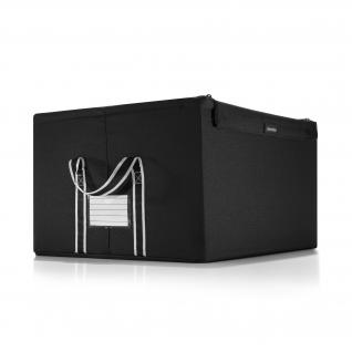 sally aufbewahrungsbox faltbox stoff schwarz 32x32cm. Black Bedroom Furniture Sets. Home Design Ideas