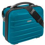 "Beauty Case "" London"" 12 L - Kosmetikkoffer Schminkkoffer Business Koffer Türkis"
