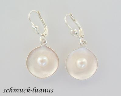 Silber Ohrringe Perlen