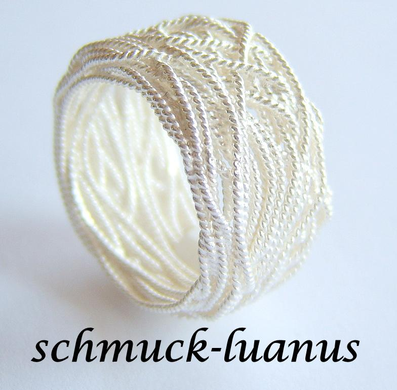 Wickelring silber 925 kaufen bei schmuck for Silberdraht kaufen