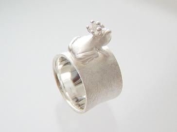 Frosch Ring Silber Kaufen Bei Schmuck Luanusyategocom
