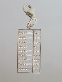 Abakus Anhänger Silber