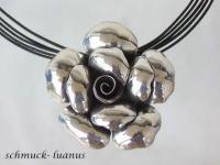 Rosen Anhänger Silber
