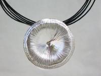 Großer Silberanhänger rund