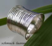 Breiter Silberring
