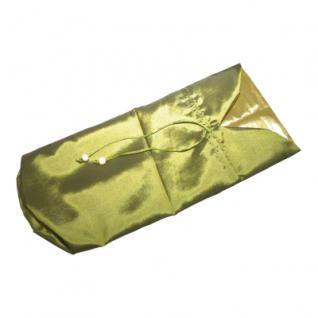 Flaschenbeutel - ca. 360 x 150 mm - lang - grün