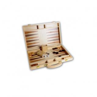 Backgammon 38x24cm im Holzkoffer